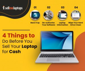 4 Things to Do Before You Sell Your Laptop for Cash